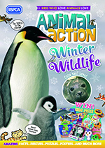 Animal action cover Winter 2020 © RSPCA
